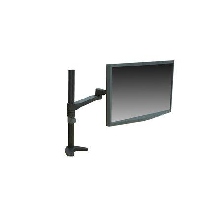 Articulating Single Monitor Mount Height Adjustable Desk Mount