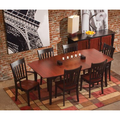 Montclair Dining Table Table Finish Maple Baker s Chocolate