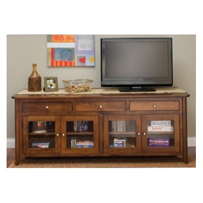 Springfield TV Stand Finish: Oak - Black Walnut