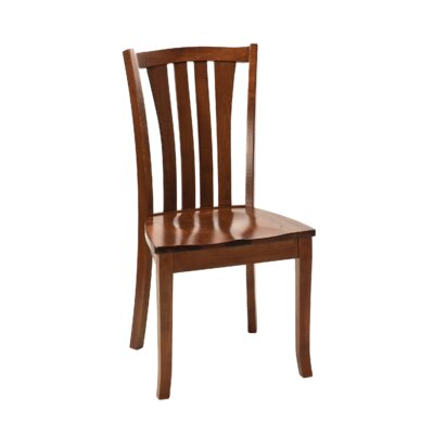 Hollins Solid Wood Dining Chair Finish: Maple - New Heritage