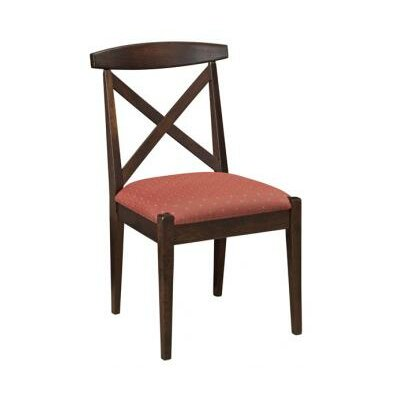 Kingston Side Chair Seat Height: 24, Finish: Cherry - Fawn