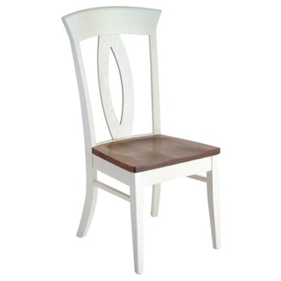 Bay Harbour Solid Wood Dining Chair Finish: Cherry - Fawn