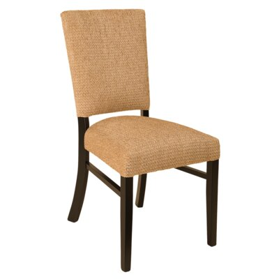 Fremont Side Chair Finish: Maple - Black