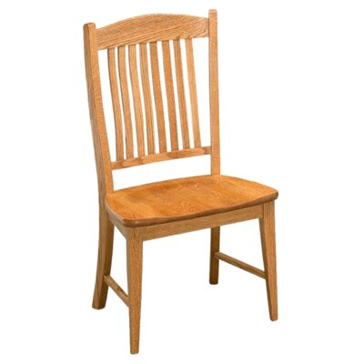 Salem Side Chair Finish: Oak - Auburn
