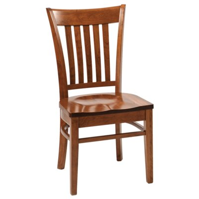 Havelock Solid Wood Dining Chair Finish: Maple - Autumn