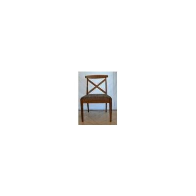 Kingston Side Chair Side Chair Finish: Windsor Blue Genuine Leather