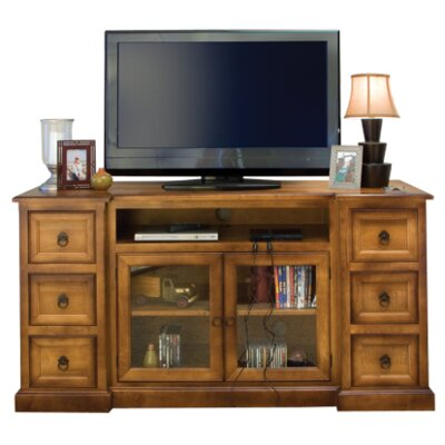 Bridgeport TV Stand Finish: Maple - Bakers Chocolate