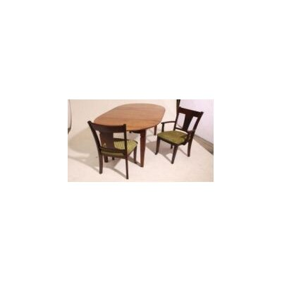 Eastport Dining Table Top Finish: Maple - Black