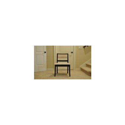 Waterford Side Chair Side Chair Finish: Maple - White Linen