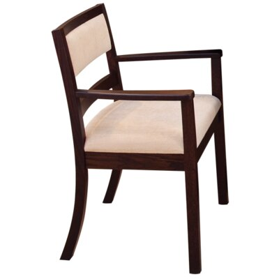 Waterford Arm Chair Arm Chair Finish: Oak - Cappuccino