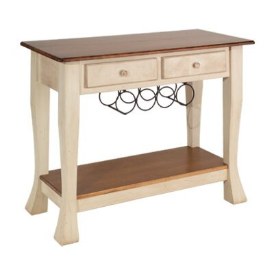 Millhouse Console Table Finish: Maple - Bakers Chocolate