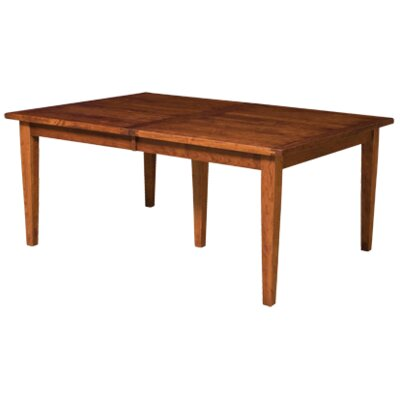 Havelock Dining Table Finish: Oak - Black Walnut