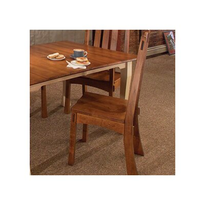 Millhouse Side Chair Side Chair Finish: Oak - Cappuccino