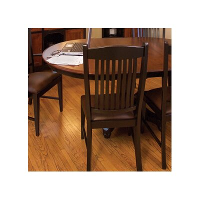 Salem Side Chair Finish: Oak - Black Walnut