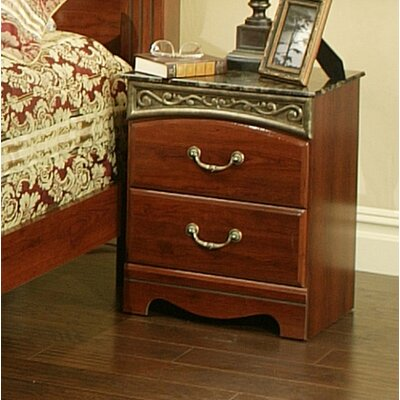 Sandberg Furniture Durban 2 Drawer Nightstand