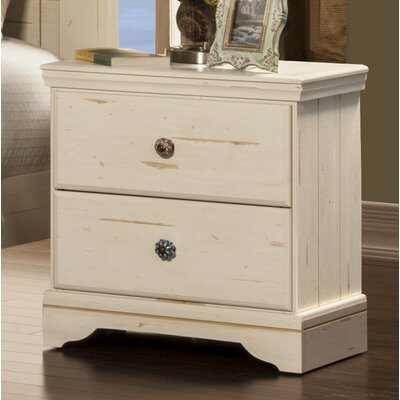 Jardin 2 Drawer Nightstand