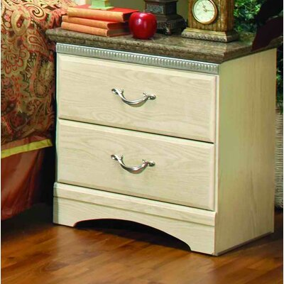 Sandberg Furniture La Jolla 2 Drawer Nightstand