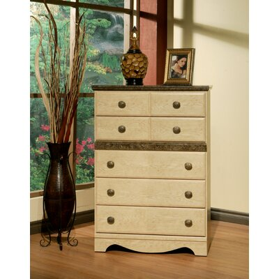 Casa Blanca 5 Drawer Chest