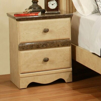 Casa Blanca 2 Drawer Nightstand