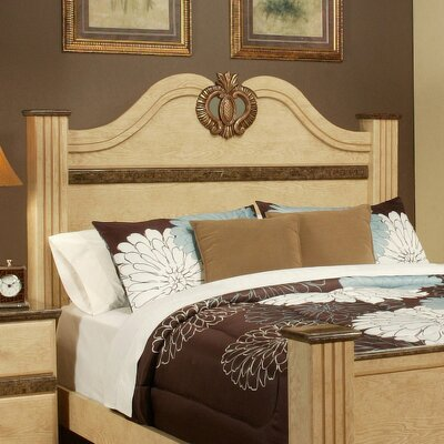 Casa Blanca Panel Headboard Size: Queen