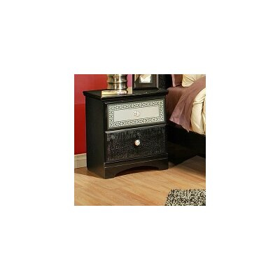 Midnight Sky 2 Drawer Nightstand