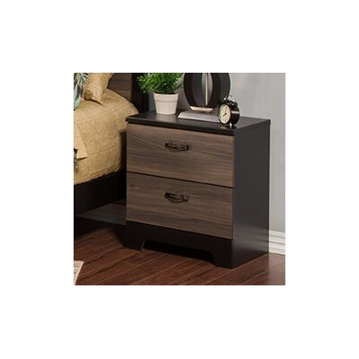 Nova 2 Drawer Nightstand