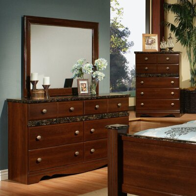 Camden 6 Drawer Dresser with Mirror