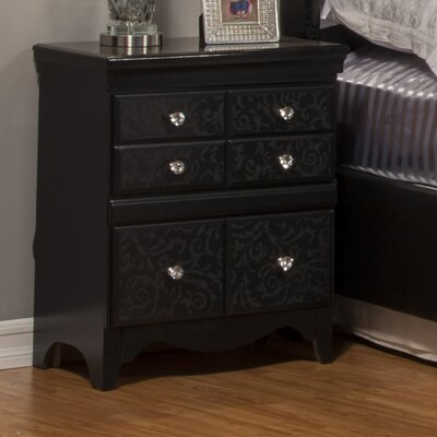 Eva 2 Drawer Nightstand