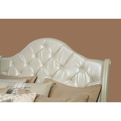 Marilyn Upholstered Panel Headboard Size: King