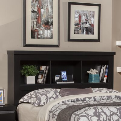 Seaberg Bookcase Headboard Size: King