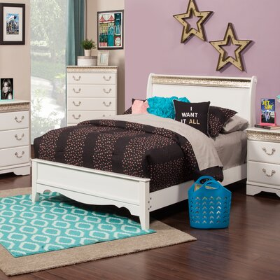 Peyton Sleigh Bed Size: Full