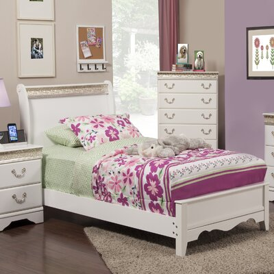 Peyton Sleigh Bed Size: Twin