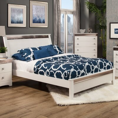 Celeste Panel Bed Size: Queen