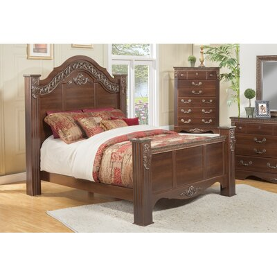 Raphael Estate Panel Bed Size: California King