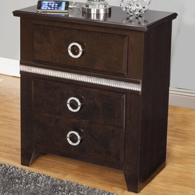 Borden 2 Drawer Nightstand