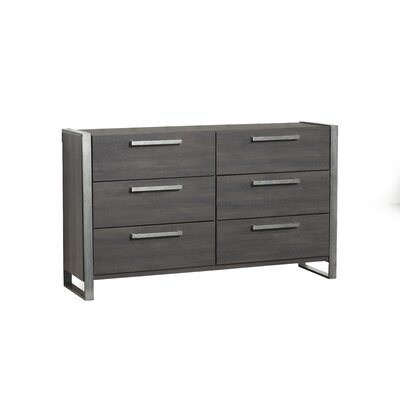 Aadi 6 Drawer Double Dresser