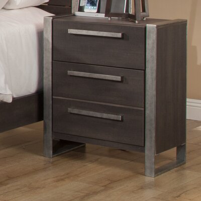 Aadi 2 Drawer Nightstand