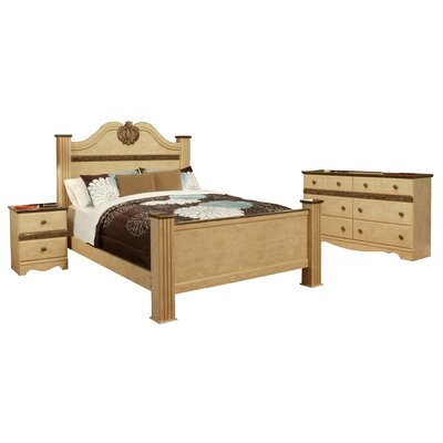 Casa Blanca Queen Panel Configurable Bedroom Set