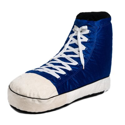 Sneaker Bean Bag Lounger Upholstery: Blue
