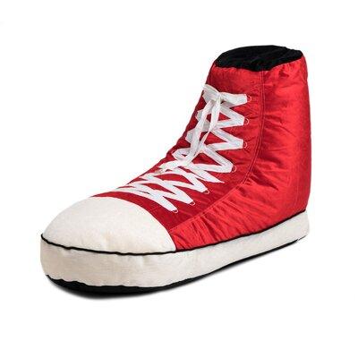 Sneaker Bean Bag Lounger Upholstery: Red