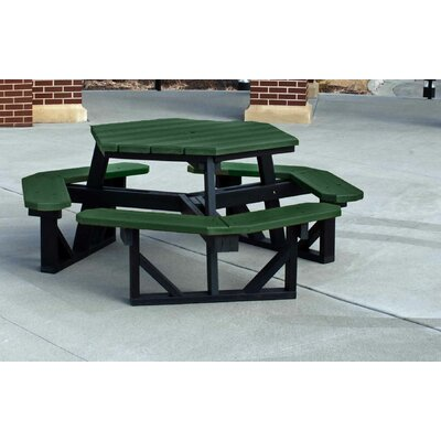 Recycled Plastic HePicnic Table - Product photo