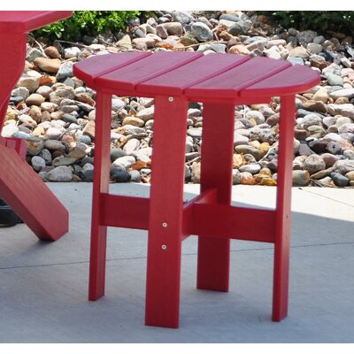 Side Table Finish: Red