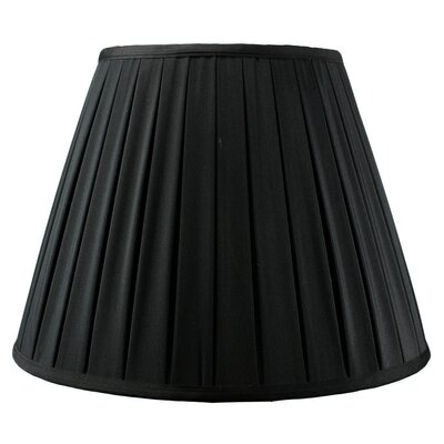 Modern Classics 16 Linen Empire Lamp Shade Color: Black