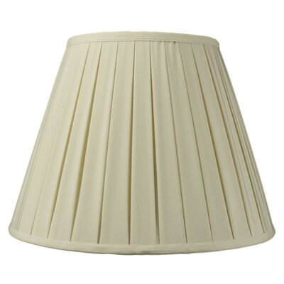Modern Classics 16 Linen Empire Lamp Shade Color: Eggshell