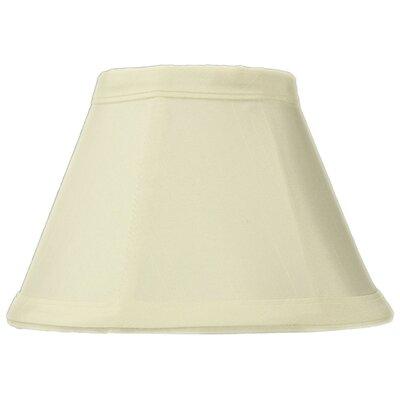 Classics Brass 6 Shantung Empire Lamp Shade Color: Eggshell / White