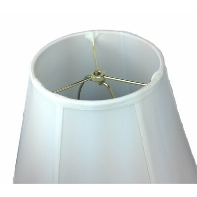 16 Shantung Bell Lamp Shade Color: White