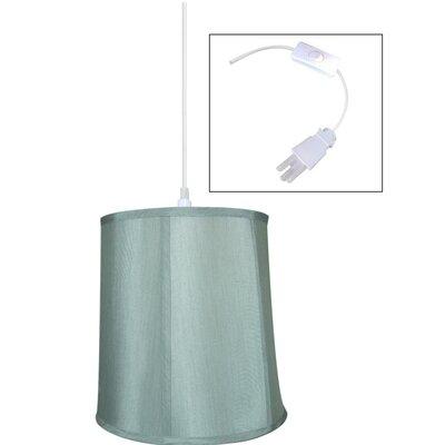 1-Light Plug-In Swag Mini Pendant