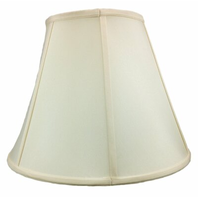 16 Shantung Bell Lamp Shade Color: Eggshell