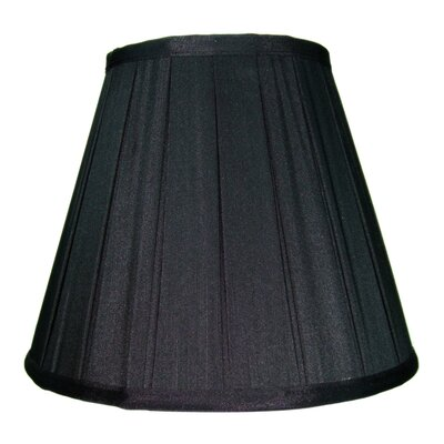 10 Shantung Empire Lamp Shade Color: Black