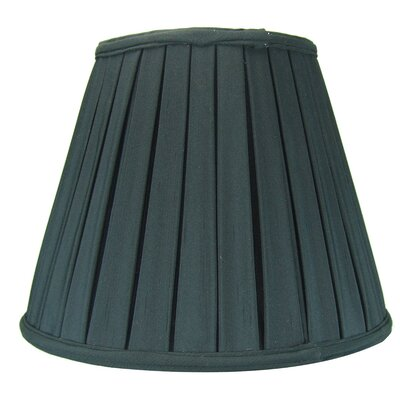 14 Metal Empire Lamp Shade Color: Black